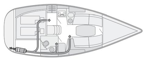 Судовой комплект Webasto AirTop 2000STC с тремя дефлекторами